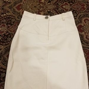 Guess by Marciano Creme pencil skirt stretch